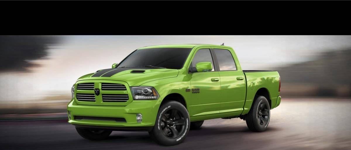 Ram 1500 Sport Sublime Green